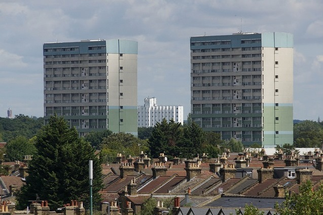Fred Wigg & John Walsh Towers by Will Faichney