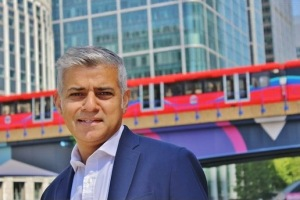 Photo from Sadiq Khan's campaign page